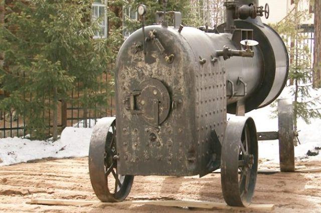 Локомобиль в Белокурихе-2