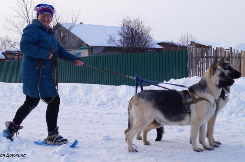 Ольга Савкина с Турель и Британией