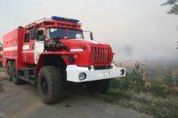 В Омской области начался пожароопасный сезон.