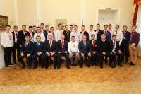 Встреча состоялась в Губернаторском доме.