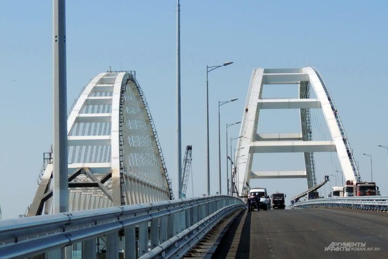 Арки Крымского моста.