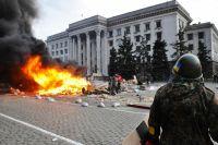 Беспорядки у здания Дома профсоюзов в Одессе 2 мая 2014 г.