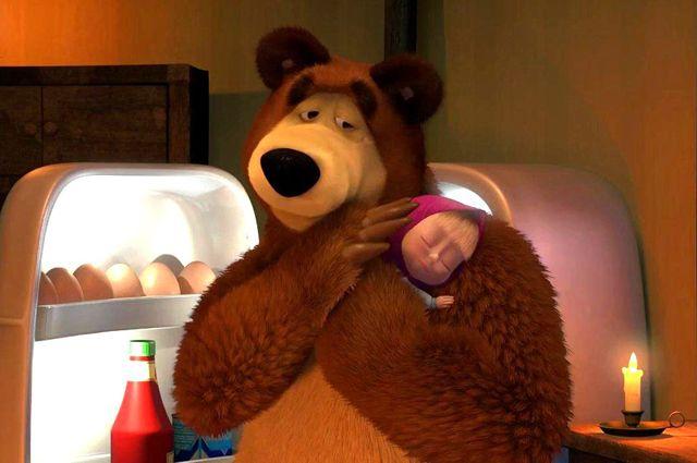 Одна изсерий мультфильма «Маша иМедведь» набрала неменее 3-х млрд просмотров