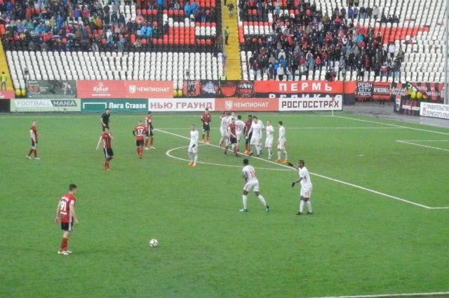 «Амкар» в этом сезоне неудачно играет в Перми.