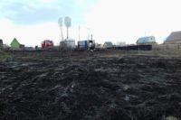 Пожар в садовом обществе «Марьин Лог»