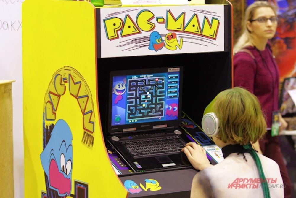 ... а еще немного понастальгировать по игровым автоматам.