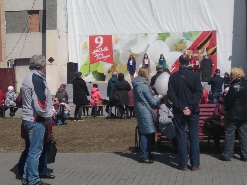 Концертная программа собрала представителей всех возрастов.
