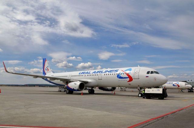 Самолет «Уральских авиалиний» экстренно сел вКрыму