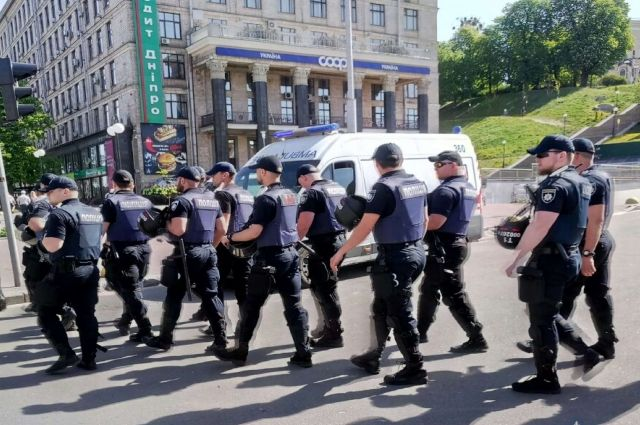 Марш в Киеве ко Дню труда: столичная полиция обеспечит порядок проведения