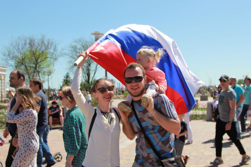 Многие ростовчане пришли в парк как на праздник!