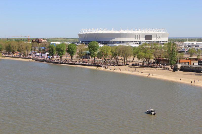 Этот парк станет еще одним уютным зеленым уголком отдыха в донской столице, и все благодаря масштабной работе по озеленению.