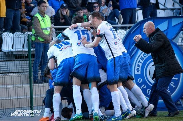 ФК «Оренбург» в последнем домашнем матче сыграет с «Сибирью»