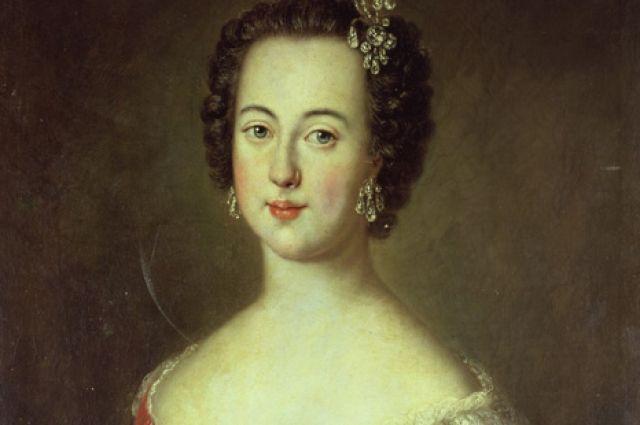 Екатерина Алексеевна, будущая императрица Екатерина II. (1745, Coburg)