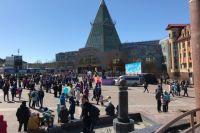 1 мая на центральной площади Ханты-Мансийска