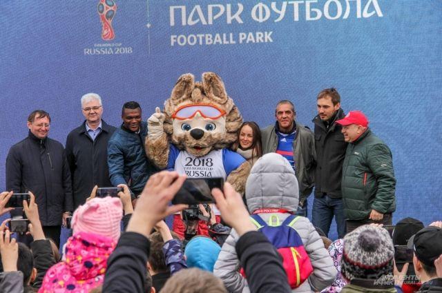 Мичел Сальгадо откроет Парк футбола ЧМ-2018 вКазани