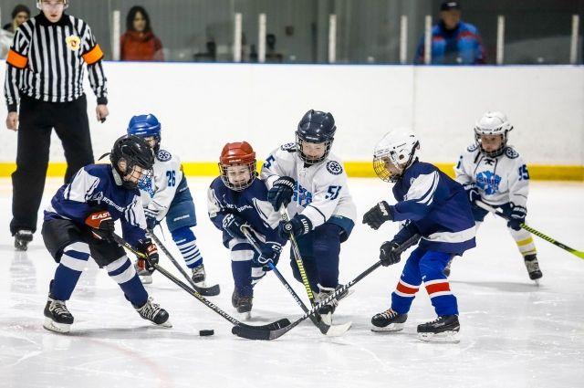 За победу боролись четыре хоккейные команды из Новосибирска.