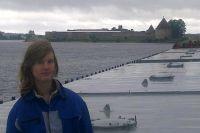 Дарья Гладких: большую часть детства я провела на палубах кораблей. И именно палубы, нагретые солнцем или захлёстываемые волнами, стали для меня родиной.