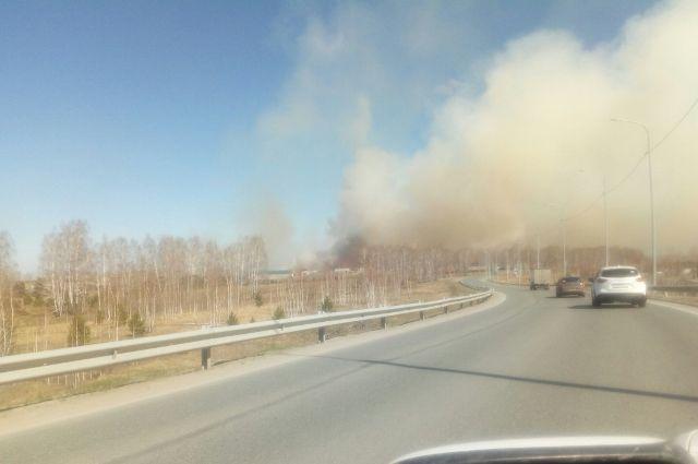 В Тюменской области произошло 13 природных пожаров