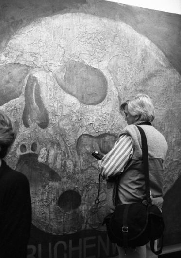 Картина «Бухенвальд», 1989 год.