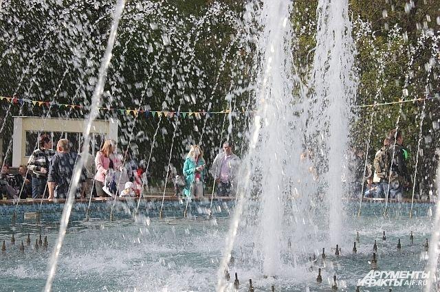 Главный городской фонтан Нижнего Новгорода заработает 4 мая.