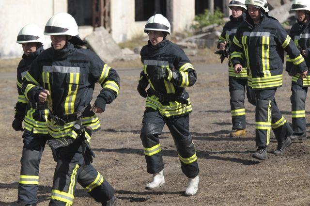 20:59 03/05/2018  0 268  Госслужба Украины по ЧС площадь пожара в Балаклее составляет 35 га    Возгорание частично локализовано