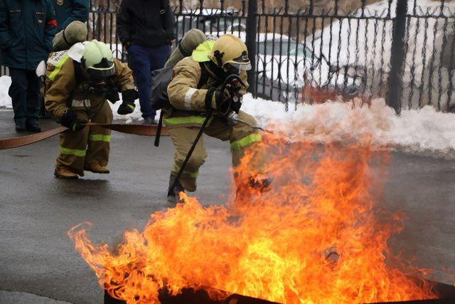 Пожарным спортсменам есть что показать.