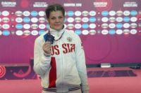 Екатерина выступала в весовой категории до 76 килограммов.