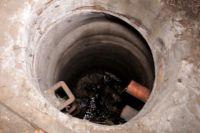 Глубина колодца составляет 20 метров.