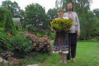 Игорь Бахаровский с супругой.