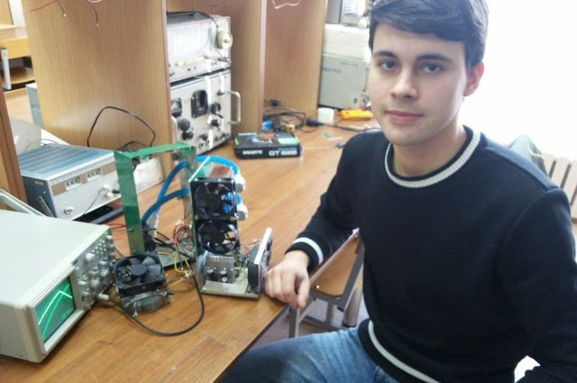 Самарский студент Владислав Лобанов придумал кондиционер для  бронежилета.