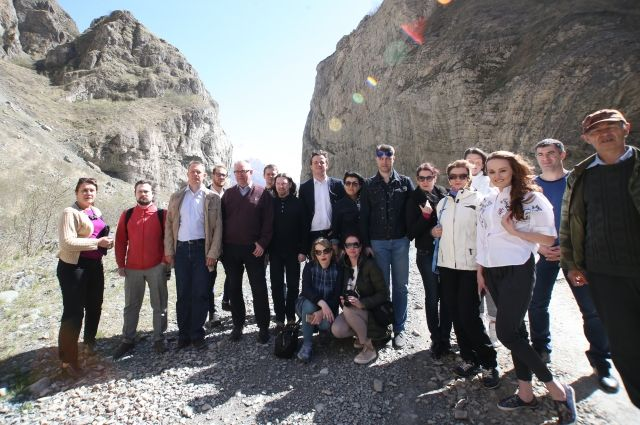 Североосетинский пресс-тур стал уже пятым по счёту сообщества «Друзья – Сябры».