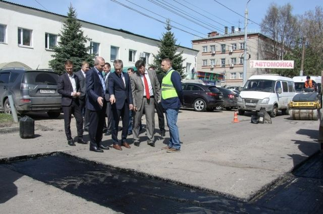 В Нижнем Новгороде началась ремонтная кампания в рамках федерального приоритетного проекта «Безопасные и качественные дороги».