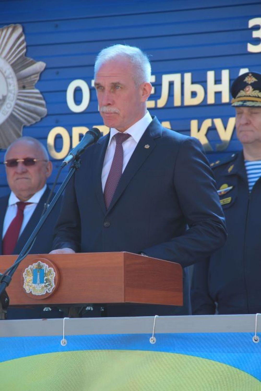 С приветственной речью выступил губернатор Сергей Морозов.