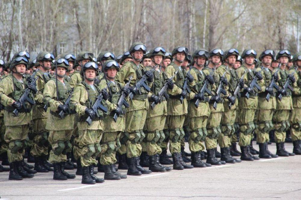 Войска к торжествам готовы.