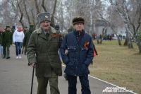 Ветераны пришли несмотря на возраст и недуги.
