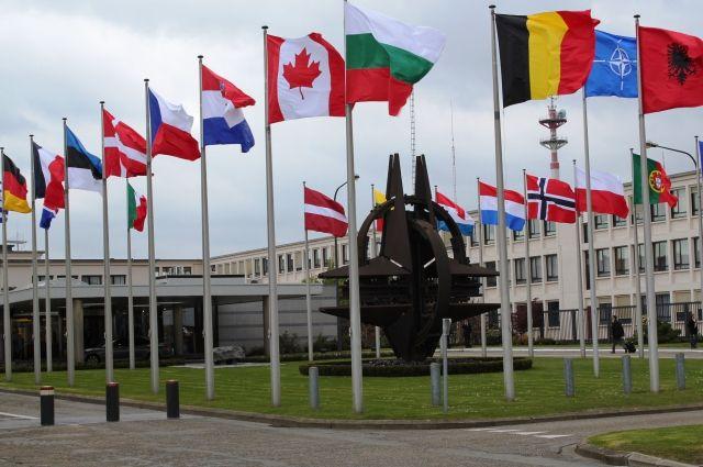 Американские СМИ узнали Российскую Федерацию ввымышленном враге научениях НАТО