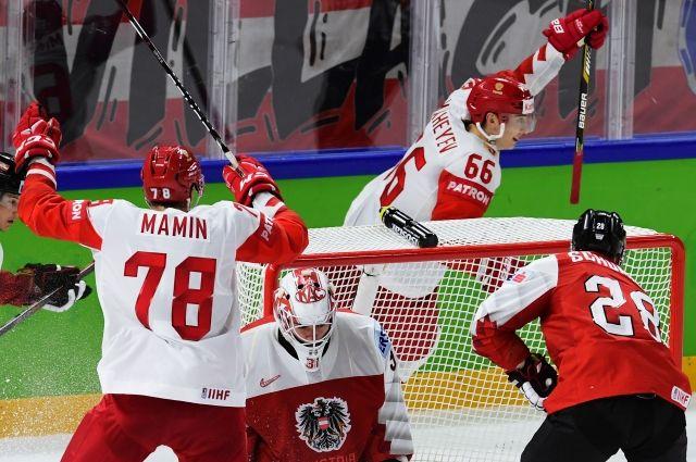 Чемпионат мира по хоккею 2018: Россия - Австрия, смотреть онлайн, прямой эфир // 06.05.2018