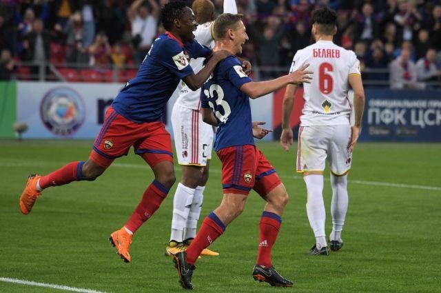 ЦСКА разгромил тульский «Арсенал» со счетом 6:0