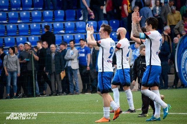 ФК «Оренбург» отвоевал свое возвращение в Премьер-лигу.