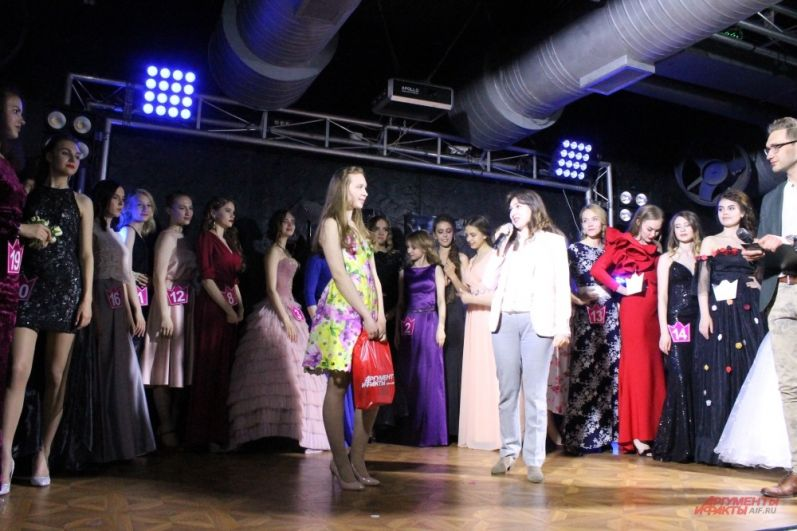 Ксения Чихачева получила спецприз «Мисс интернет» от «АиФ-Прикамье»