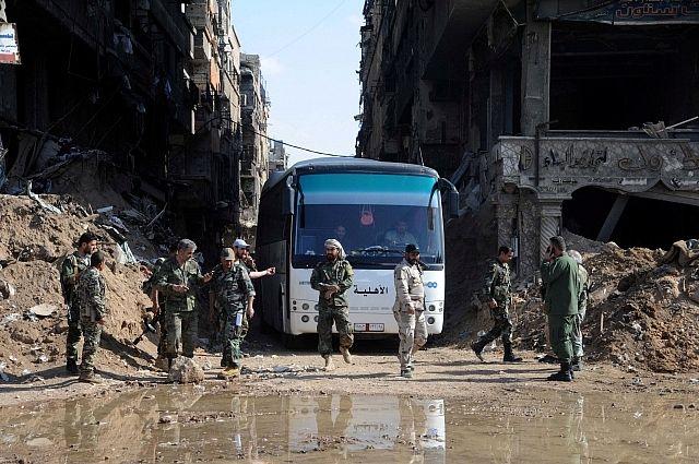 Армия САР «разрежет» надвое подконтрольныеИГ кварталы Дамаска
