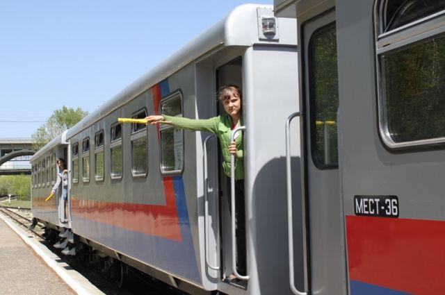 Посетители смогут прокатиться в поездах бесплатно.