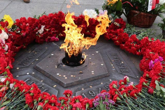 Накануне 9 мая в Гусеве зажгут Вечный огонь.
