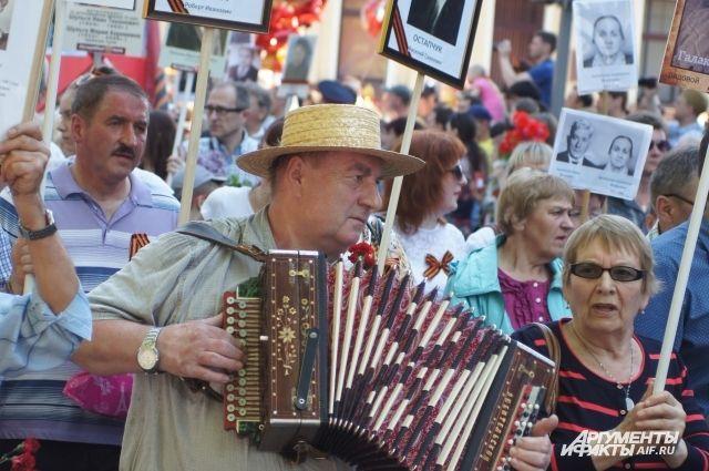 В Калининграде ищут баянистов и аккордеонистов для «Бессмертного полка».
