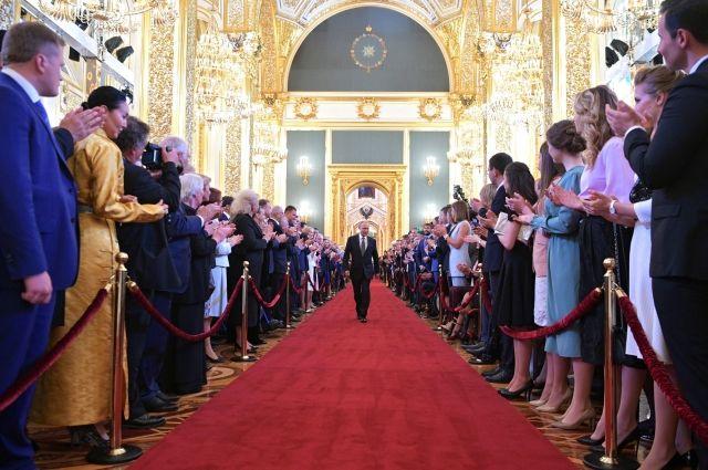 Торжественная церемония состоялась в Кремле 7 мая.
