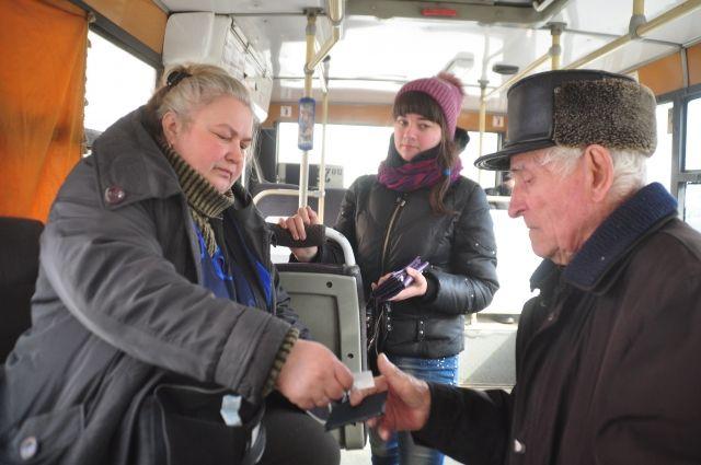 В Кузбассе в День Победы проезд в общественном транспорте будет бесплатным.
