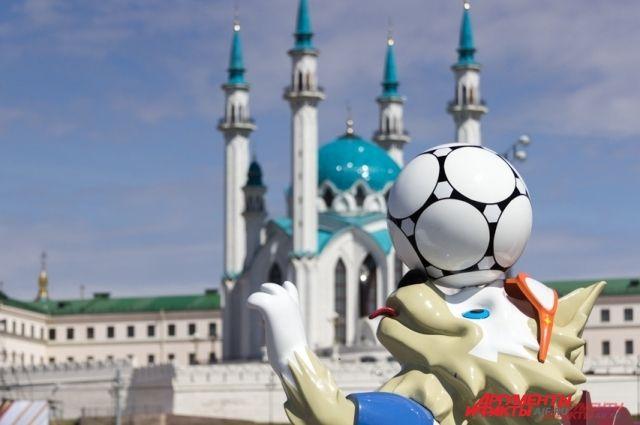 Казань отрепетировала чемпионат мира по футболу 7 мая.