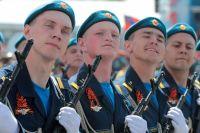 Парад войск Ростовского-на-Дону гарнизона состоялся 5 мая.