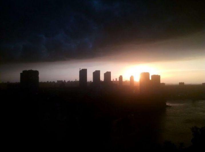 После дождя и грозы город выглядит совсем по-другому.