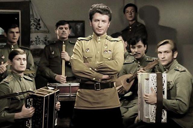 Кадр из фильма «В бой идут одни старики», 1973 год.